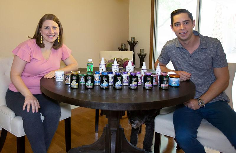 Vet + Instinct Owners Casey and Nora Jones.